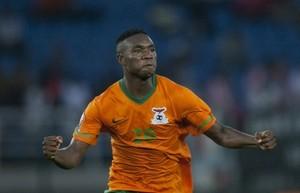 Foto (Foto: Mayuka é o artilheiro da Copa Africana e um dos destaques da seleção de Zâmbia - AP)