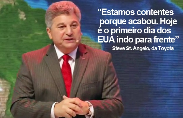 Steve St. Angelo, presidente da Toyota para América Latina e Caribe (Foto: Reprodução/Toyota)