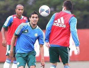 alan Kardec treino Palmeiras (Foto: Leandro Martins / Agencia estado)