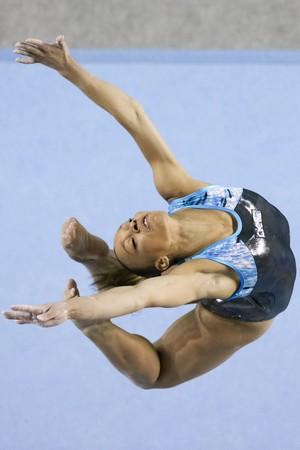 Lorrane Oliveira brasileiro ginástica (Foto: Ricardo Bufolin/CBG)