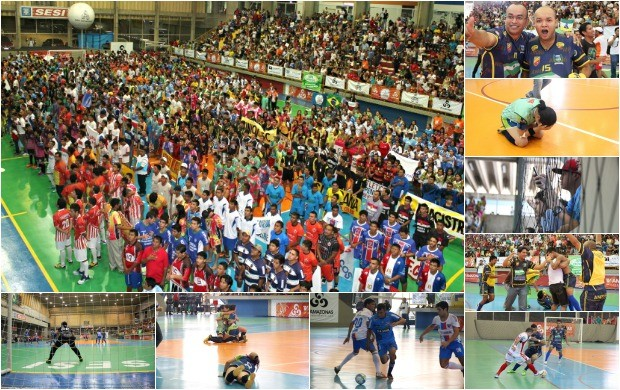 Copa Rede Amazônica de Futsal (Foto: Reprodução/ Globo Repórter)
