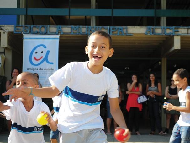 Amigos da Escola (Foto: Divulgação)