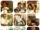 Vanessa Giácomo comemora dois meses da filha Maria