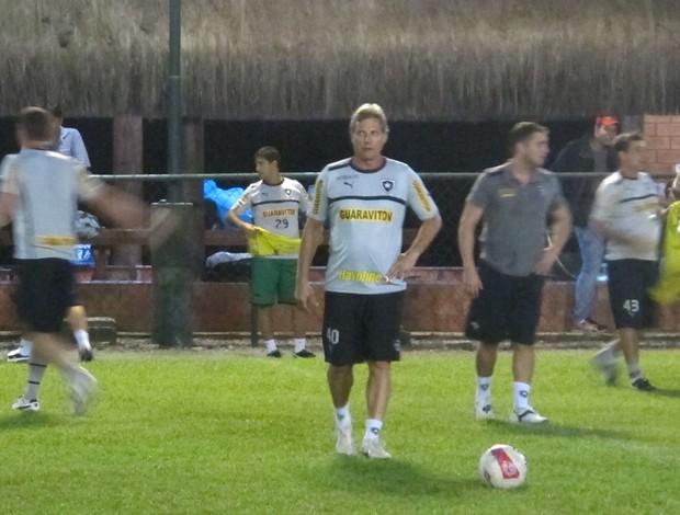 Oswaldo de Oliveira Botafogo pelada (Foto: Fred Huber)