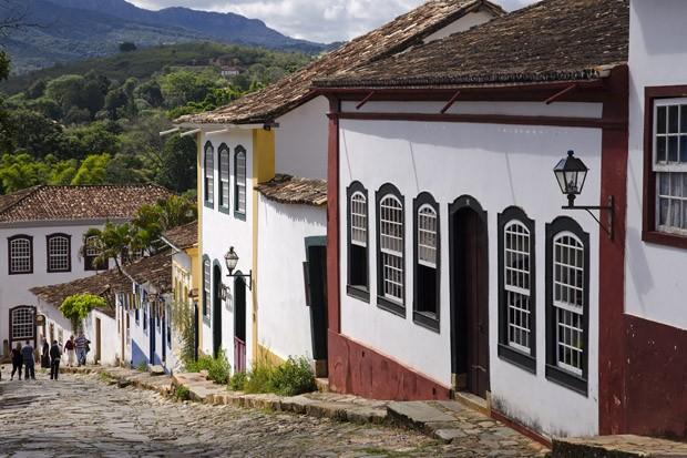 A Rua da Câmara, que desce da Matriz de Santo Antônio, é uma das mais atraentes de Tiradentes (Foto: Haroldo Castro/ÉPOCA)