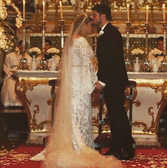 Marina Morena posta foto de casamento de Preta Gil e Rodrigo Godoy (Foto: Instagram / Reprodução)