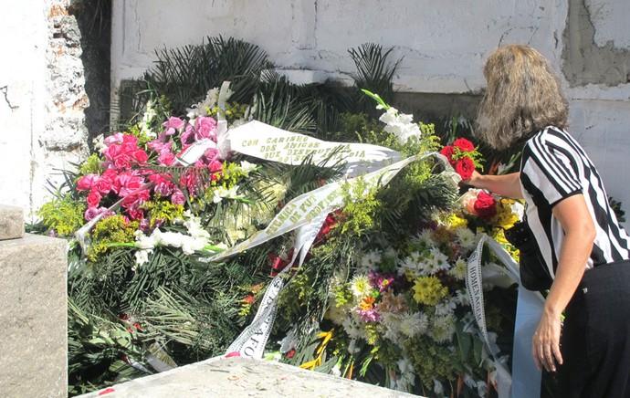 Enterro Nilton Santos (Foto: Fred Huber)