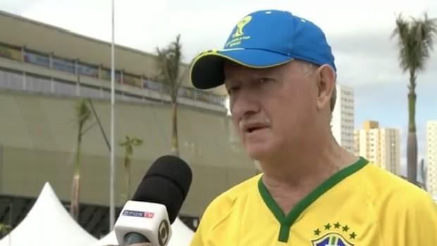 Sósia de Felipão prevê duelo com o Chile e