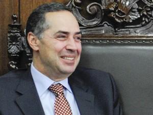 O advogado e professor Luís Roberto Barroso, em visita ao Senado (Foto: Jane de Araújo/Ag.Senado)