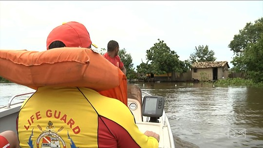 Nível do rio Pindaré sobe e deixa em alerta o Corpo de Bombeiros do MA