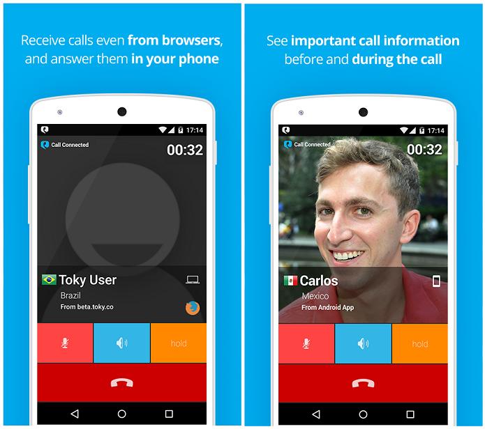 Toky é um aplicativo para fazer ligações gratuitas (Foto: Divulgação)