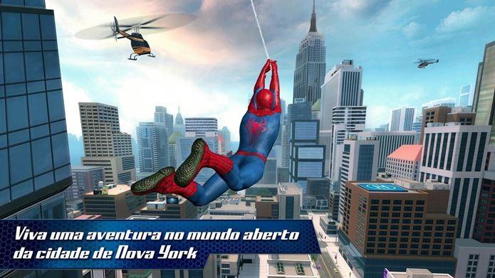 Jogo baseado no novo filme do Aranha estreia na App Store (Foto: Divulgação)