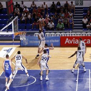 Basquete; Minas (Foto: Orlando Bento/ Minas)