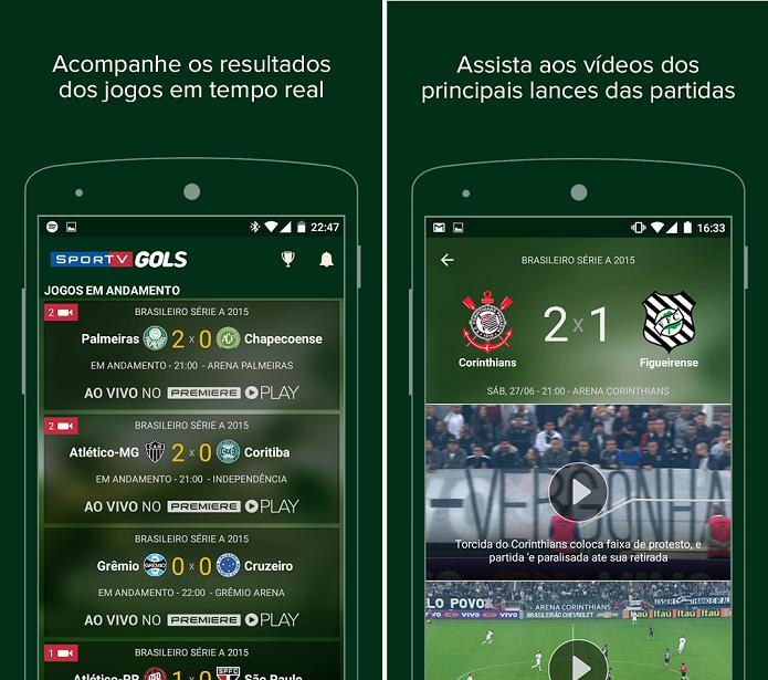 SporTV Gols está atualizado com novidades (Foto: Divulgação)