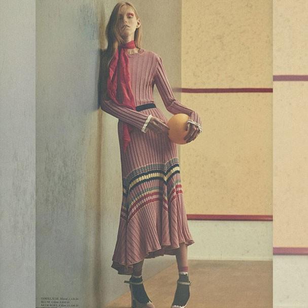 Lululeika na foto publicada pela revista dinamarquesa Cover (Foto: Divulgação)