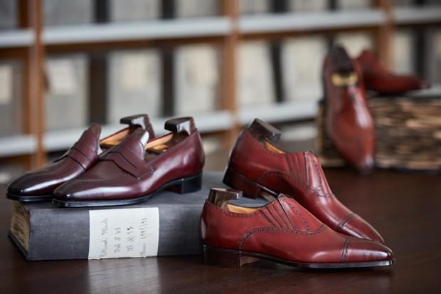 Linha de calçados sob medida da Zegna (Foto: Divulgação)