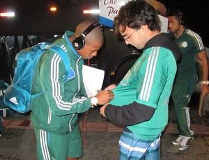 Luis Felipe desembarque Palmeiras (Foto: Marcelo Hazan)