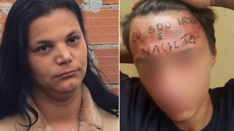 Mãe do adolescente tatuado na testa disse se agressão fosse feita na testa de um rico seria considerada tortura (Foto: Glauco Araújo/G1)