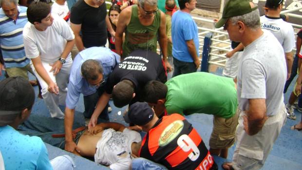 Oeste x Fortaleza - Série C (Foto: Alan Schneider/Globoesporte.com)