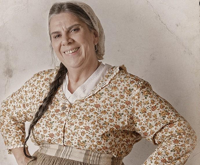 Dona Neném vai cuidar de Doutor Boltelho e Pérsio  (Foto: Fábio Rocha/Gshow)