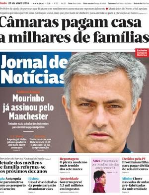 Mourinho acertado com o United (Foto: Reprodução)