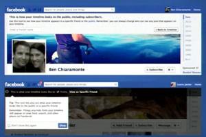 Usuário poderá saber como seus contatos enxergam sua 'Linha do Tempo' no Facebook. (Foto: Reprodução)