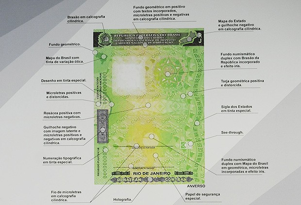 Novo documento de CNH traz mais dispositivos de segurança (Foto: Agência Brasil)