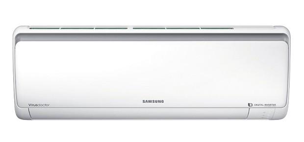 O Digital Inverter da Samsung tem sistema de filtragem Full HD. Custa R$ 3.599, com capacidade de 24 mil BTU/hora (Foto: Divulgação)