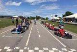 Paulo Roberto e Klinger vencem a quarta rodada do Municipal de Kart