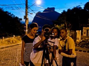 Alunos também usam locações externas (Foto: Divulgação / Jonatas Martin Puga)