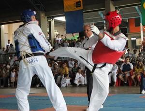 VI Rondônia Taekwondo Open movimenta Porto Velho (RO) (Foto: Hugo Crippa/GLOBOESPORTE.COM)
