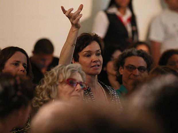 Júlia Lemmertz também participou do evento  (Foto: Isabella Pinheiro/TV Globo)