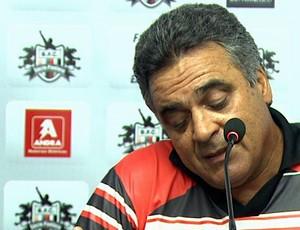 Vagner Benazzi lamenta derrota no Botafogo-SP (Foto: Reprodução EPTV)