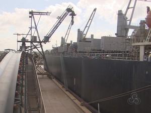 Porto de Santana colocará ações na bolsa de valores (Foto: Reprodução/Rede Amazônica no Amapá)