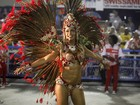 'Não é hora de sentimentos ruins', diz Milena Nogueira, musa do Salgueiro