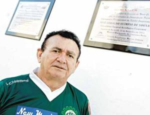 Geraldino Saravá, artilheiro do Castelão, ex-atacante de Fortaleza e Icasa (Foto: Marília Camelo/Agência Diário)