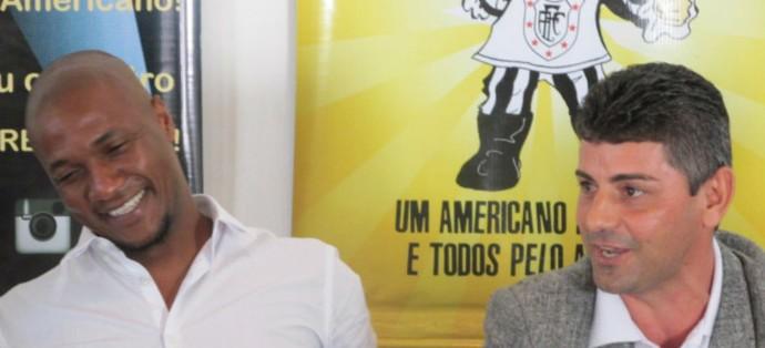 Gilberto e luciano viana, americano (Foto: Granger Ferreira / Ururau)