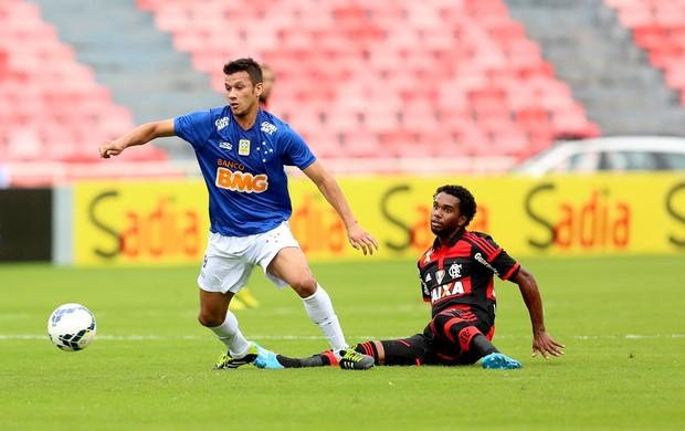 Henrique e Luiz Antônio Cruzeiro x Flamengo (Foto: Cristiane Mattos/Futura Press)