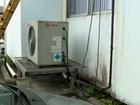Ar-condicionado de UTI para de funcionar após roubo de fios no Norte