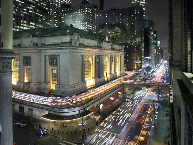 Grand Central Station, estação de trem de Nova York (Foto: Tony Cenicola/The New York Times)