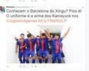 Romário compara time indígena dos JMPI ao Barcelona em rede social