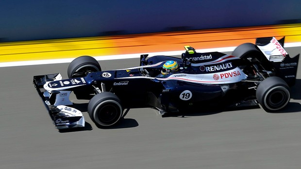 bruno senna williams gp da Europa (Foto: Agência EFE)