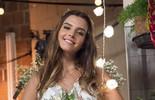 Giovanna Lancellotti grava vestida de noiva e descreve casamento dos sonhos