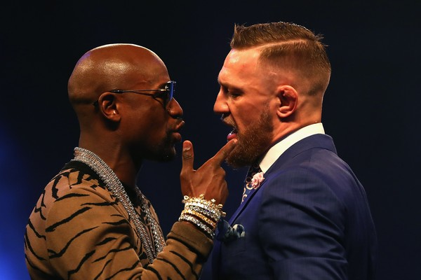 Floyd Mayweather e Connor McGregor (Foto: Getty Images)