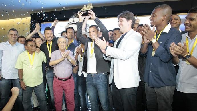 Trófeu Verdes Mares, Tv Verdes Mares, Fortaleza, Campeão, Cearense, Campeonato (Foto: LC Moreira/Agência Diário)