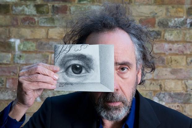 Tim Burton é grande admirador das obras de Margaret Keane (Foto: Divulgação)