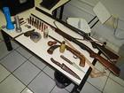 PA prende três por caça silvestre e porte ilegal de armas em Riolândia