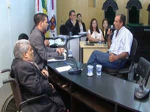 CPI ouve testemunhas em Formiga MG (Foto: Reprodução/TV Integração)