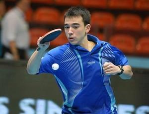 Hugo Calderano - Tênis de mesa - Copa do Mundo por equipes
