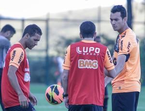 Pierre, Réver, Atlético-MG, treino, Cidade do Galo (Foto: Bruno Cantini / Site Oficial do Atlético-MG)